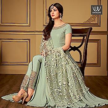 Buy Now @ https://goo.gl/LzSJQq  Sonal Chauhan Green Georgette Designer Salwar Suit  Fabric- Georgette  Product No 👉VJV-MAIS6405  @ www.vjvfashions.com  #chaniyacholi #ghagracholi #indianwear #indianwedding #fashion #fashions #trends #cultures #india #womenwear #weddingwear #ethnics #clothes #clothing #indian #beautiful #lehengasaree #lehenga #indiansaree #vjvfashions #bridalwear #bridal #indiandesigner #style #stylish #bollywood #kollywood #celebrity #outfits #vjvfashions