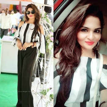 #styling #stylediaries #stripes #zaraindia #zara #pants #offshoulder #off-shoulder #black-and-white #white-black #black-white-striped #love-photography #mystylestatement #mystylemantra #sunglasses #blacksunglasses #glares-rayban-aviators #raybanshades #makeupgoals #contourhighlight #instadaily #instablogger #hyderabadfashionblogger #imageconsultant