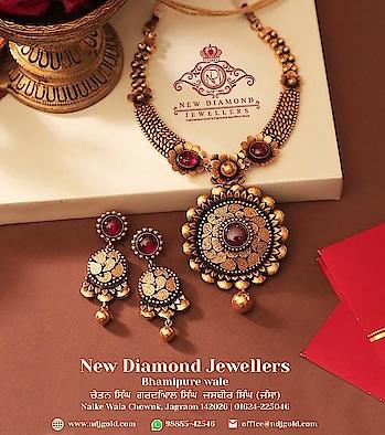 Enhance your charm with NDJ #Certified #Gold #jewelry. Call or #Whatsapp @98885-42546. www.ndjgold.com  #diamonds  #ring  #earrings  #pendantset  #necklace  #women  #fashion  #roposo-trending  #goldjewellery  #jewellerytrends  #bangles  #gift  #weddingjewellery  #bridaljewellery  #indianwedings  #indianbride  #jewellerylove  #shaadi  #discount   #bridal-jewellery  #fastdelivery  #instajewellery  #india-punjab  #onlineshopping
