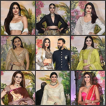 The Finale to the much awaited Sonam-Anand Wedding was a true Bollywood Party! 💕 . Getting you all the inspiration details from the event! 💞 . Glamour Queen Sonam Kapoor's Layered Jewellery is what caught our immediate attention!! It truly was a perfect match to her Reception look! ❤️ . All the other Divas amped up the Glamour Quotient by perfectly pairing their outfits with Gorgeous Statement Neckpieces & Earrings! . Swipe Left for individual pictures! 💎 . www.gehnoor.com 💻 . FREE SHIPPING anywhere in India 🚙 . Cash On Delivery Available across India 💲 . WhatsApp at 07290853733 📱 . www.facebook.com/Gehnoor/ . gehnoor@gmail.com 📝 . #bride #kundannecklace #indianbride #photooftheday #instabride #bridalwear #bridaljewellery #tags #like #likeforlike #followfollow #followus #gehnoor #earrings #chandbali #kundan #choker #sonamkapoor #sonamkishaadi #everydayphenomenal #jacqulinefernandez #karishmakapoor #jhanvikapoor #aishwaryarai #swarabhaskar #kanganaranaut #aliabhatt #anandahuja