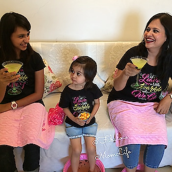 Manicures, Pedicures, Food, Fun, Music - and matching tees from @bonorganik ! What could be a better idea to spend a lovely 'Girls Day In' with a Mommy Daughter At Home Spa Day. Come on in and enjoy with us! . On The Blog Today! .  .http://www.fabulousmomlife.com/entertaining/mommy-and-daughters-at-home-spa-day-with-bonorganik/ . #parenting  #momdaughter  #familytime  #indianmoms  #indianmom  #matchingoutfits  #matching  #matchingtees  #momdaughterdate #homespa  #spa  #girlpower  #toddlerstyle  #toddlergirl  #momofgirls  #girlsquad  #party  #mothersday