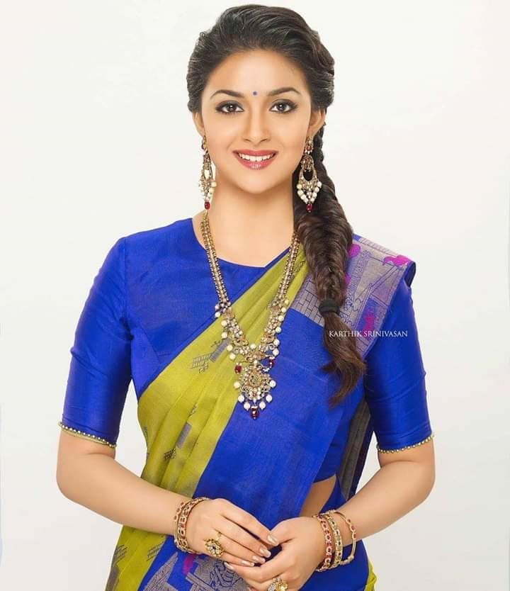 Keerthy Suresh Looks stunning in Traditional Look 😻 #KeerthySuresh #traditionallook