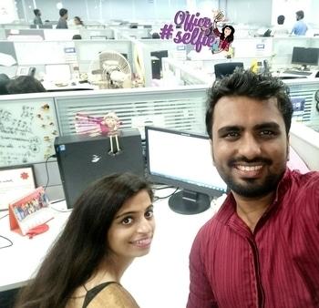 #buddiesforever #ethnicday#pongal2017#officefun #officeselfie