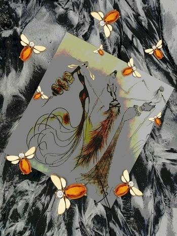 Fashion 👠#eveningwear #gowns #designer #stylist #illustration #sketchinglove #art #artist #stilized #pencilwork #editing #rich #royal #classy #highfashion #womenswear #womensfashion #black #white #gold #cristals #bee🐝 #accessories #cuts #shapes #textures #freels #highheels #posing #creative #mywork #lovedoingthis #instalove #instago #instaedit #instagram 😍