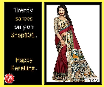 Download: http://bit.ly/2D12b3g  #reseller #resellerswelcome #reselling #saree #designer-saree #wedding-saree #womensaree #women-fashion #women-style #womenwear #sellonline #fashion #thebazaar #workfromhome
