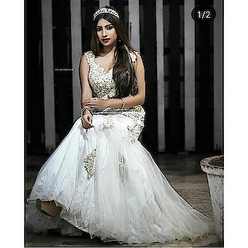We can never stop obsessing about white. can we? Rent this dreamy white gown and enjoy your princess moment.   Logon to www.rentanattire.com now to checkout more.  #whitegown #prewedding #dreamdress #indianweddings #indianfashion #bigfatindianwedding #bigday #prep #bridalwear #groomwear #designerwear #bridallehenga #sherwani #rentanattire #rentyourlook #ownyourstyle #fashion #style #fashiononrent #weddingphotographers #weddingplanners #weddingdesigners #wedmegood #instapic #instalike #india #pune #delhi #dehradun