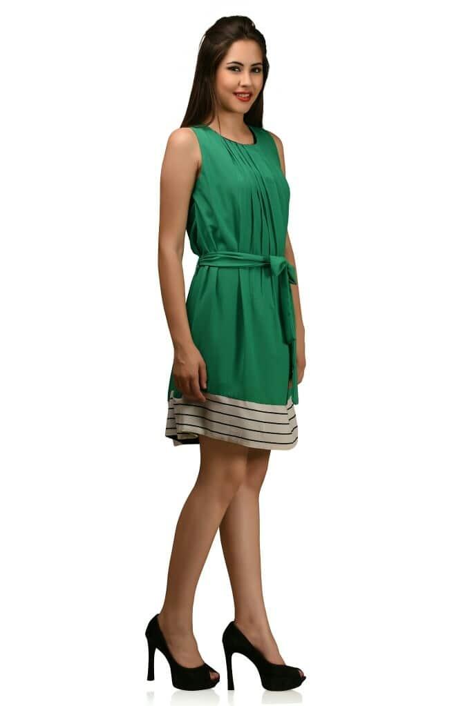 #western-dress #dresscollection #dress 👗  #westernattire #greenlove #greendress #shortdress #july2017