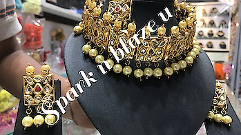 Kundan choker with earrings and Maangtika  Price- 1580 Free shipping  Summer offer  Offer limited till june month  Book fast colors available -maroon, red, green, golden  We ship international  #worldwideshipping #offeroftheday #offerofmonth #jewelrysale #jewelrygram #jewellerydesigns #jewelryonline #roposo-fashiondiaries #canadaonline #dubaifashionblogger #londonfashion #saudi #arab #high-quality #sydney #california #makeup #makeupartist