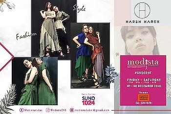 Flirtatious easy breezy ensembles by @officialharshharsh are the definite must haves for a glamorous yet chic destination wedding look. Shop these fabulous ensembles only at Modista 📅 Fri, 7th Dec, 12 - 9pm 📅 Sat,  8th Dec, 10 - 9pm 📍 @vesimi , DUBAI . . #modistadxb #modistarocks #modista #wintershow #under1k #fashionandlifestyle #designerwear #instafashion #shopaholic #shoptillyoudrop #mydubai #uae #abudhabi #picoftheday #shopping #fashionexhibition #fashionblogger #celebritystyle #westernwear #workwear #luxurypret #shopthelook #lifestyle #exhibition