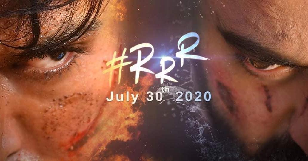 July 30th, 2020... RRR...🔥🔥🔥 An #ssrajamouli Film... #RRR #RRRPressMeet #JrNTR #RamCharan #AliaBhatt #Ajaydevgn #RRRMovie