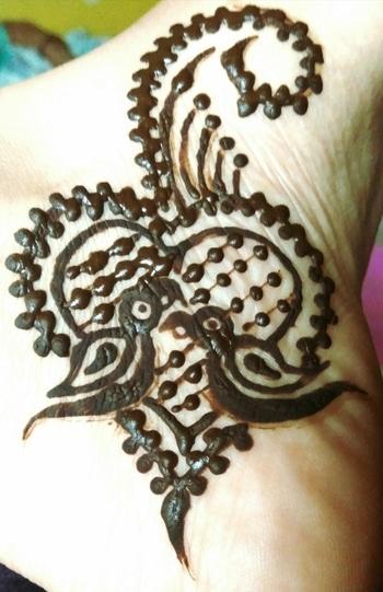 henna tattoo.. #tattoos