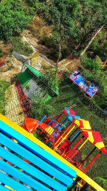 Long Time No See! Been quite a while that I uploaded something on the gram.  So, here is a colourful postcard from one of my travel.  Travel throwbacks are kinda best because they take you back to so many memories.  P.S - I have always been scared of all kinds of swing rides. But I love Theme parks.  I dont know how I am dealing with these weird combinations in life. And I have MANY! (Telling this with a straight face and no smiley, coz its not even funny) . . . . . . . . . . . . . . . . . . . . . . . . . . . . . . . . . . . . . #themeparks #themepark2018 #themeparklife #themeparkfun #swingrides #rideslow #themeride #funparks #puneblogger #punebloggergirl #jamshedpurblogger #indiantravelblogger #punetravelblogger #indiantraveler #campusbloggers #wahhindia #picoftheday #theculturegully