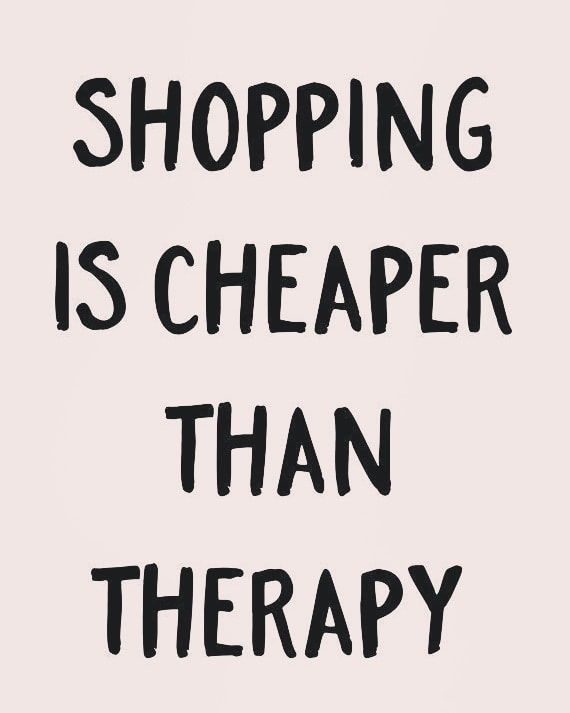 Best therapy for ladies!!!!😉 #Qamash #qamashstyle #simplicityiselegant #shoppingtherapy #shoppings #shopping #shop #shopaholic #shoppingonline #shopee #shopshopshop #treatyourself  #becrazy #shoppingfrenzy #crazy #therapy #besttherapy #keepshopping #loveshopping #buy #keepcrazy  #loveit❤️