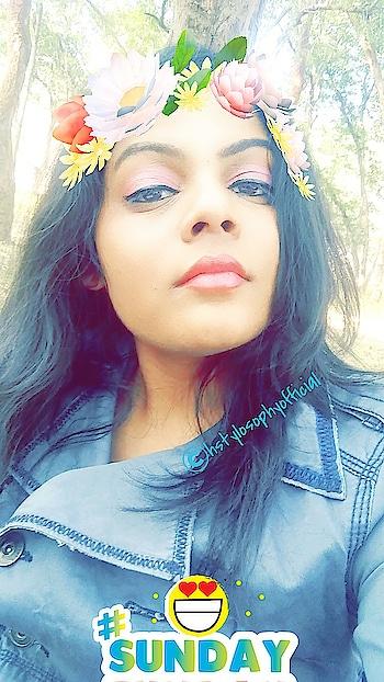#snapchatlove #snapchatfilter #flowercrown #flowerlove #sundayselfie #sundaymood #styleitup #stylefile #ropo-style #roposopost #winter-style #be-fashionable #fashion-diva #fashion-style #womens-fashion #stylishme #h_styletour #hstylosophyofficial #sundayfunday