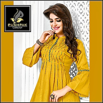 Its all you need to make them fall in love😉 . New Designer Cotton Straight Kurti Collection.... Beautiful Look  www.pushpakcollection.com . . Any Inquiries Please DM Or Whatsapp Me By This Link 👇👇 https://goo.gl/vF9xF5 . . Shop Our New Arrivals.  50, Janki Nagar Main,  Near Jain Sthanak, Navlakha,  Indore (452001) +919425052565 . . #ChoiceOfTheDay #LookOfTheDay #OfferOfTheDay #EthnicLook #Fashion #ElegantKurtis #EthnicWear #NewCollection #Attire #TraditionalWear #CasualWear #NewArrival #LatestCollection #CottonKurti #StraightKurti #WomensClothingStore #ladiesKurti #Kurti #Kurta #DesignerKurti #Kurtishopping #Indore #UniqueStyle #Kurtis #DesignerKurti #OfficeWear #PushpakCollection #WeekEnd #SimpleKurti
