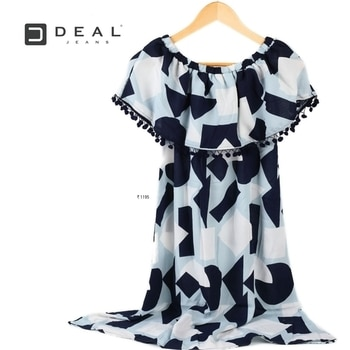A flairy breezy off shoulder dress can set any mood! #DealJeans