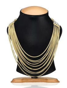 pic any of these neckpiece at rs 299 +60 rs shipping hurry limited stock ....😃