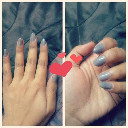 #nailpaint #soroposo #roposolove  #makeup #greylove #nailart #nailcolor