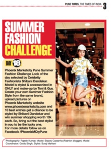 Featured in today's Pune Times 😁😁 #pune #punetimes #punecity #fashion #fashionblogger #fblogger #beautyblogger #vlogger #onlyindia #onlyfashion #onlyxgarfield #cuteootd #ootd #outfitpost #outfit #casualwear #outfitofthedey #punediaries #browngirl #tan #dusky #oliveskin #phoenixmarketcitypune @onlyindia #summerfashion #summerstyle #summeroutfit #summerfashionchallenge #stylingtips