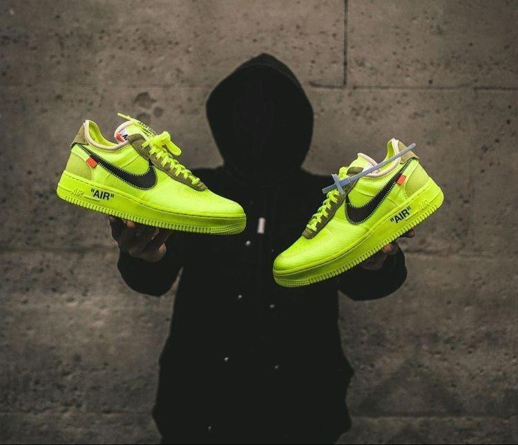 *Nike Airforce Off White 'volt'*  ◾7a quality ◾41-45 sizes ◾2209/- Free shipping With box  to buy send watsaap on 9999142594  #roposo #shoes #shoesforboys #shoesformale #trending #nikeshoes #nike