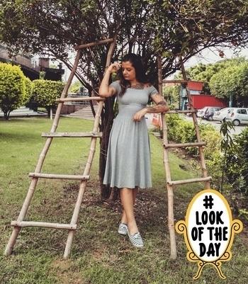 Dress from @koovs #lookoftheday
