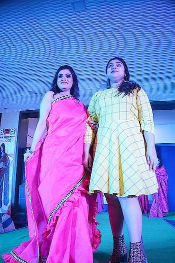 Fashion World 2  #Ordnance Club #Kolkata #DesignerSaree #DesignerShowCase2018 #Designer #ShowStopper #OntheRamp