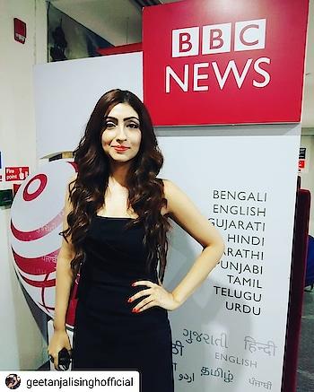 fun interview session #bbcnews #media #newschannel #artist #actress #geetanjalisinghofficial #geetanjalisingh #google #googlesearchengine