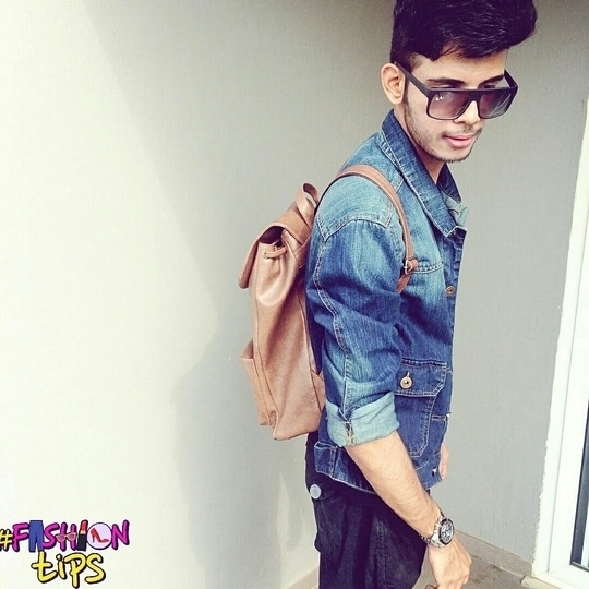 All fashion brands are about looking good.  Jacket : Denim Trouser : H&M Bag : Atorse Watch : Edifice  Shades : Rayban  #roposo  #ropo-love   #photoshoot   #denim   #denimjacket  #denimjacketoutfit   #hairstyle   #undercut   #menshair  #menshairstyle  #koovs  #koovsfashion  #koovsman   #sweatshirt  #amazon  #trousers    #whitesneakers   #sneakers   #mensclothing   #mensfashion   #gqmen   #mensfashionblog  #mensphysique   #menshealth   #dapper  #igersindia   #indian   #tc  #fashiontips