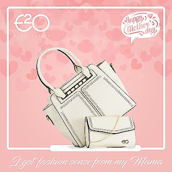 Mama's all over the world, have always been our greatest teachers, teaching us not only love and compassion but fashion also!!  For all that she does, Happy Mother's Day ❤️ #mothersday #mothersdaygift #mothers #e2o #e2ofashion #handbag #fashion #style