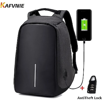 Anti-Theft Unisex security Bagpack.   ▪Integrated USB charging port.  ▪Cut proof and WaterProof 600D polyester fabric. Padded EVA foam top.  ▪Weight balance. Makes u feel less weight upto 20 %. ▪Adjustable open angels.  ▪Hidden zipper closures.  ▪Advanced storage design. 7 compartments to makes things organised inside. Upto 15' laptop fits inside. Big size.  ▪Shock proof.  *Rs 799 plus shipping*  To Order WhatsApp +91 7744902244  #antitheft  #antitheftbag #brandedstuff  #bazaar  #bazaar #thebazaar #shopping #online #online-shopping  #women-branded-shopping #shoppingonline #bestdeal #bestdeals #wholesaler #wholesalebazar #whatsapptoorder #shopindia #onlineshoppingindia #indianshoppers #indianstyle #fashion_trends #fashion #trendy  #shoppingforher #women-branded-shopping
