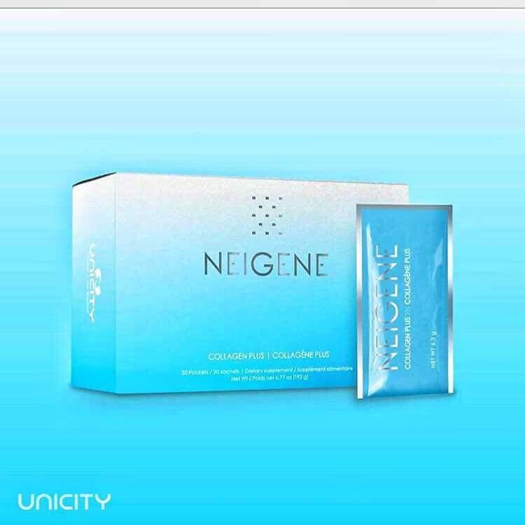 You want to Look Younger & Longer always ?   Do U think Beauty is just Skin deep ?                  NO 👇 A Healthy outside starts from Inside......  👉 Finally Neigene Collagen Plus Launched in India...... ( Skin.... Hair n Nail care )  The much waited and only the product available in the world which works on the genes .Unicity Neigene Collagen Plus is a Patented Nutricosmetic product....  Genomeceutical is Unicity's new technology used in Niegene Collagen plus, which works at the gene level.  Neigene Collagen Plus also contains Biotin which helps in Healthy Hair and Nail growth....   Do you want to have Beauty from inside?  For order can call @ 9871108154
