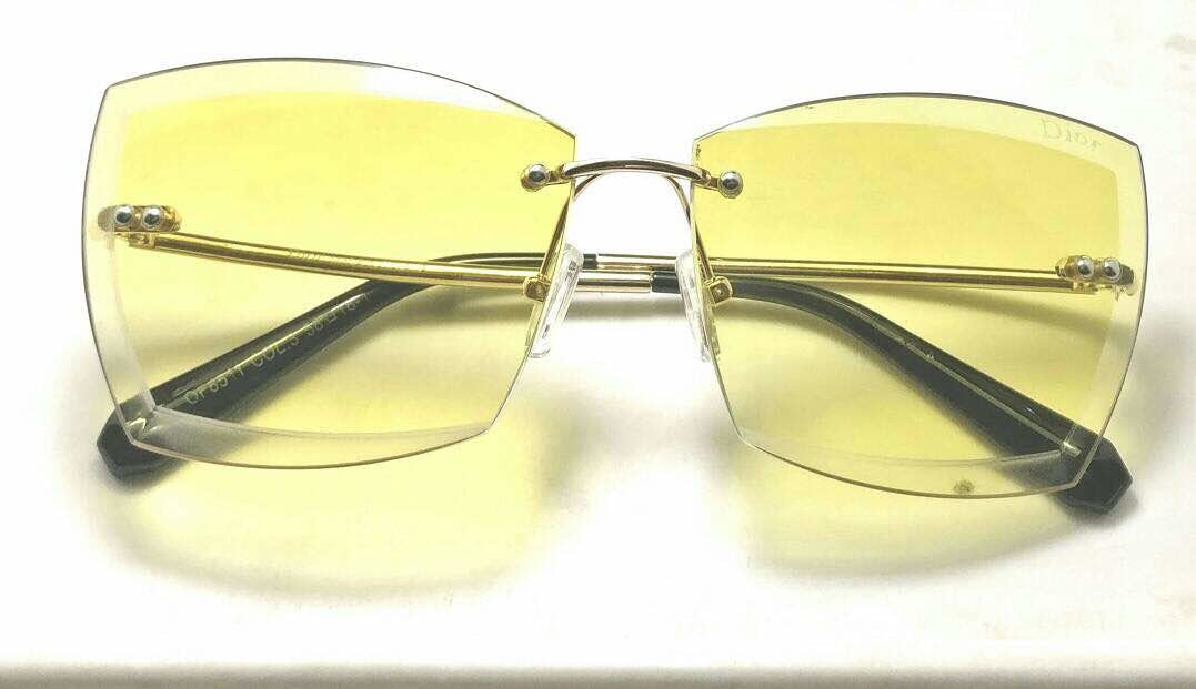 #rimlessframes #glasses #sunglasses #shades #spectacles gdlh LADIES RIMLESS  7a Quality Sunglasses  Price 1449+$