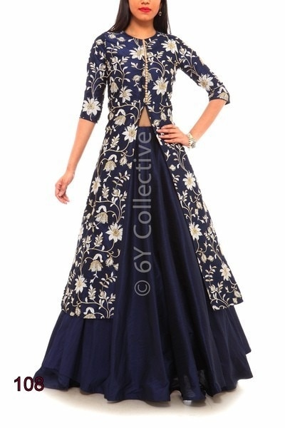 to buy DM or whatsapp :+919913865910   #indowesternlook #bluetop