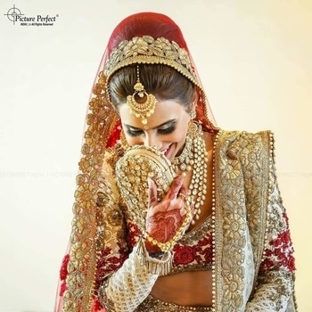 #BridalBlush  Every detailing of this queenly bride amazingly captured in one shot by pictureperfectindia!  #WedLista #FashionForWeddings
