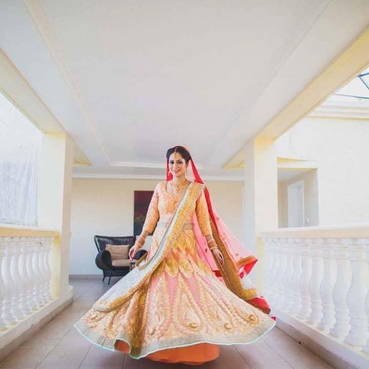 A wedding album is never complete without a bride twirl.  Share your bridal twirls with us and get featured!  Image Credit: shutterdownphotography   #WedLista #FashionForWeddings #twirling #shoppingonline #weddingseason #weddingwear #memoriesaremine #ropo-love