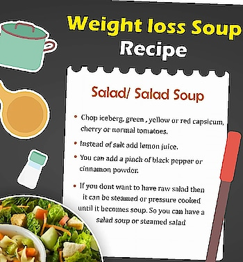 #weightloss#healthy#soup#recipe#salad#yummy😋