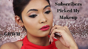 """My subscribers picked my makeup! And i create this sexy everyday """"work"""" glam makeup look... Check out the full video in youtube now... https://youtu.be/hNFqQ9s9Aw0 .  #sgig #sgindian#makeupartist #makeuplover #makeupblog #makeupqueen #singaporeyoutuber #indian #beauty #makeup #wakeupandmakeup #make4glam #skincare #powder #oilyskin #ghalichiglam #everyday #glam #subscribers #red #everydaymakeup #makeupeveryday"""