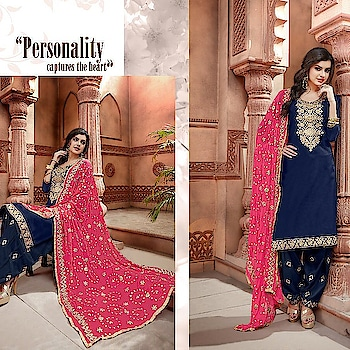 Beautiful Salwar Suit - Phillauri Vol - 4 . 7 designs(Single Available) 💐New stylish Gota Patti Patterns Salwar Suit with *Contrast Dupatta Concept and Gota patti work on bottom. Fabrics-----  Top - Chanderi Bottom - Santoon Dupatta - Semi-Chiffon  📞Contact us/whats app us on : +91 9898133588 ,+91 7990485004  💻Visit Now : www.grabandpack.com 🇮🇳 Free shipping only in India  📲For Our Daily Updates Ping us on Whatsapp +91 9898133588 👍Like us on Facebook : https://www.facebook.com/grabandpack/ #salwarsuit  #dress  #suit  #lehengasuit  #single  #seasoncollection #PhillauriVol4 #pakistanisuits  #colors  #velvet  #anarkali  #heavysuit  #brand  #womenwear  #indiantradition  #clothes