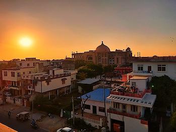 #Jaipur #sunset_pics