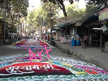 #rangoliindia #rangoli #indian #awesomeme #so-ro-po-so #rpososolove #aselfieaday