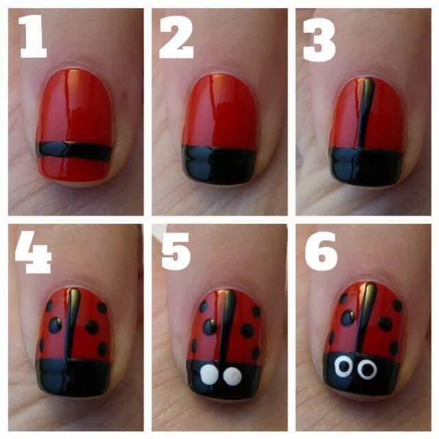 Easy nail art #lovenailart #lovenails #magical #ropo-love 💅