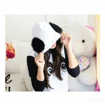 Panda Hoodie  Rs 999 free shipping To order DM or whatsApp us at 9958150555  #panda #pandahoodie #pandahoodies #fashion #be-fashionable #trends2017 #trendywear #hoodie #faahionstyling #fashionsale