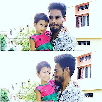 Boys are become more childish while playing with kids👉🙋‍♂️😍 #smiles #captured #kodal #😍 #dauhterinlaw #love #cutipie #baby #akshada #pic #credits #sista #to @akshu4351 #beardlove #instaedits #photocollage #picsart  #likesforlikes