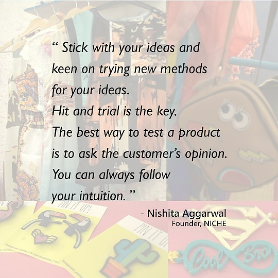 Check out what our founder, Nishita Aggarwal, has to say about NICHE and how we started our journey featured on Launch Story.😄  http://launchstory.in/story/niche-creating-assorted-range-of-products-funk-chic-trendy/  #fashion #accessories #india #launchstory #entrepreneur #young #journey #featured #happy #story #picoftheday