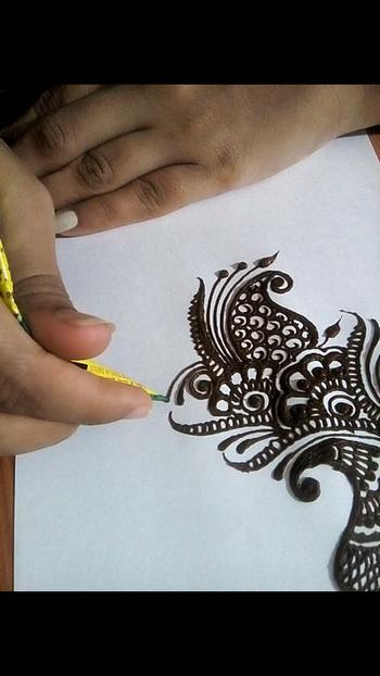 #indianart #designer-of-mehndi
