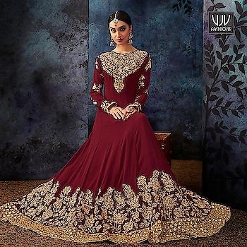 Buy Now @ http://bit.ly/VJV-HOTL7081  Wonderful Maroon Color Georgette Designer Anarkali Suit  Fabric- Georgette  Product No 👉 VJV-HOTL7081  @ www.vjvfashions.com  #salwarsuit #salwarkameez #punjabisuit #indianwedding #model #bridal #bridalsuit #weddingstyle #occasionwear #sabyasachi #weddingwear #bridesmaids #salwarsuits #anarkalisuit #plazzo #plazzosuit #punjabi #kurat #ethnic #traditional  #designer #desifashion #online #shopping #designer #punjabisuit #vjvfashion #kurti