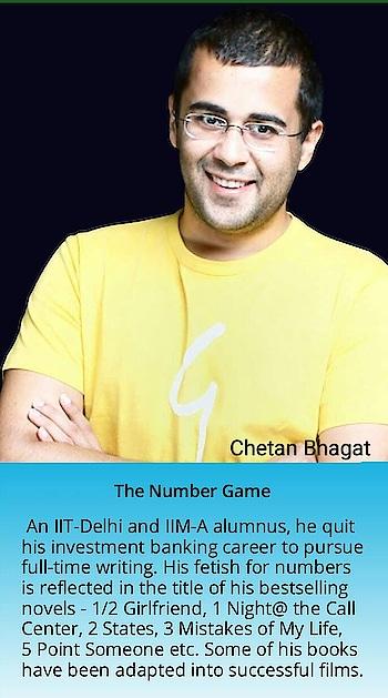 #chetan bhagat