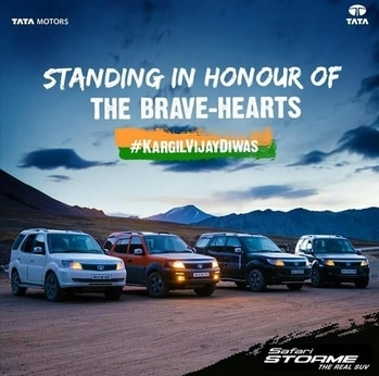 there were #tatamotors who has support our indian army in kargil war and today we are driven with Suzuki , Hyundai ,Toyota's , datson, Renault the brands