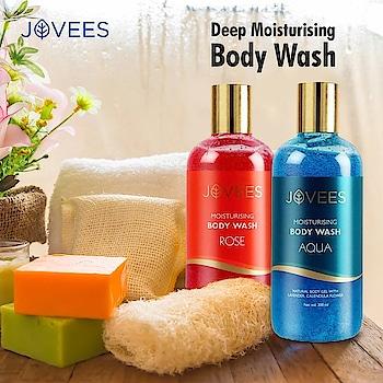 Aqua and Rose Moisturizing Body Washes of Jovees, daily use deep moisturizing body washes. #bodywash #bestbodywash #moisturizing #natural #aquabodywash #rosebodywash #herbal #skincare #skincareproducts #beautyproducts