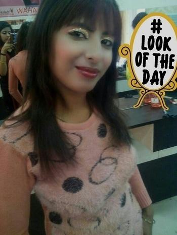 HD makeup.... #lookoftheday
